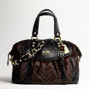 Coach Madison Haircalf Brynne Bag